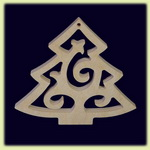 Елка - праздничное украшение (061)