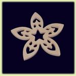Цветок - праздничное украшение (030)