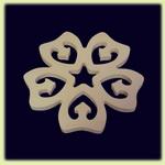 Цветок - праздничное украшение (032)