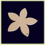 Цветок - праздничное украшение (035)