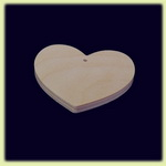 Сердце - праздничное украшение (092)
