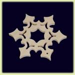 Снежинка - праздничное украшение (010)
