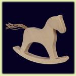 Лошадка качалка березовая