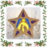Витраж рождественский