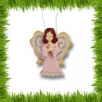 Ангел в молитве - подвеска