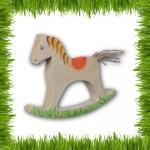 Лошадка-качалка березовая