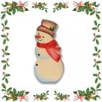 Снеговик - ёлочная игрушка (234)