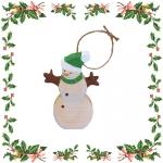 Снеговик - ёлочная игрушка (233)