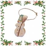 Снеговик - ёлочная игрушка (235)